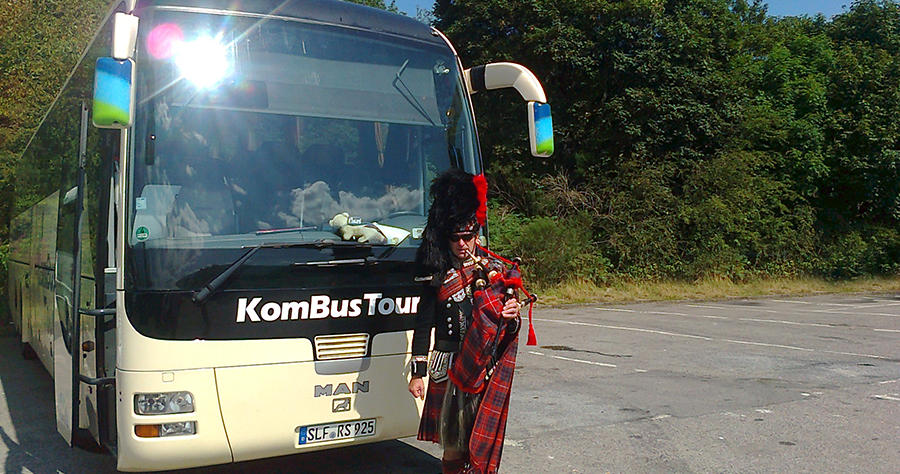 KomBus Tours in Schottland